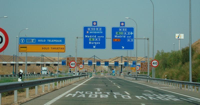 Автострада в Испании