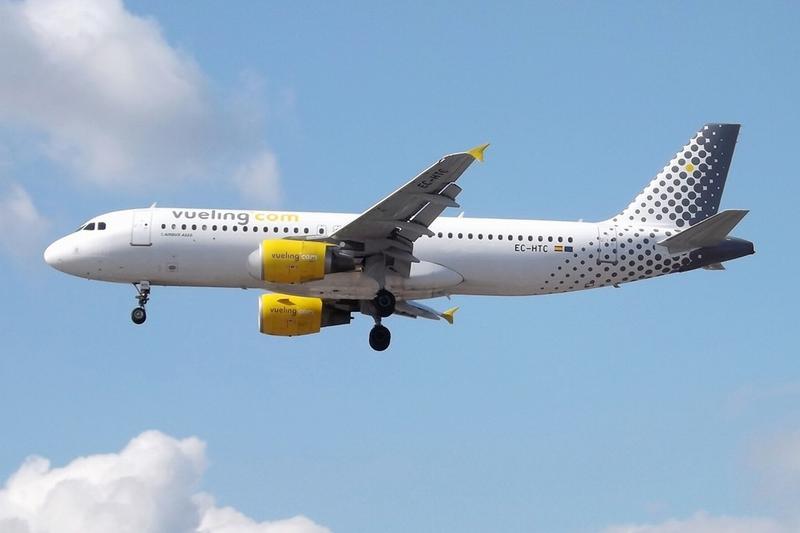 Самолет компании Vueling