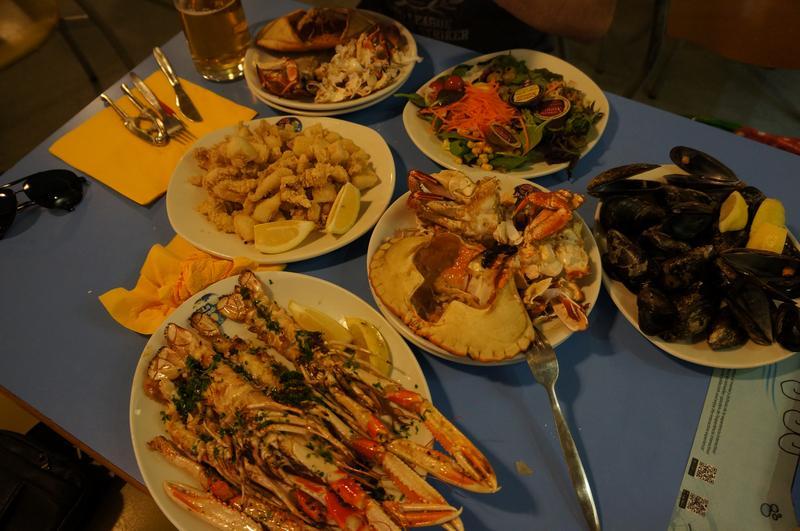 Еда в La Paradeta