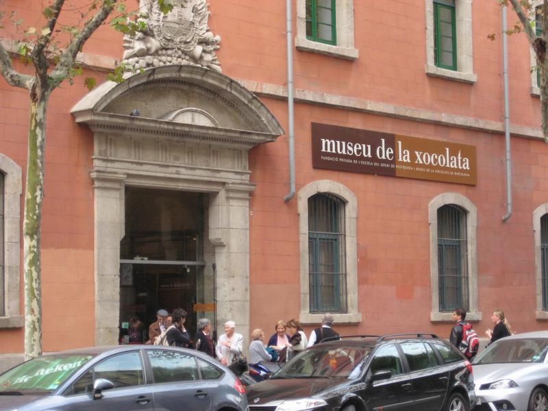 Вход в музей Шоколада