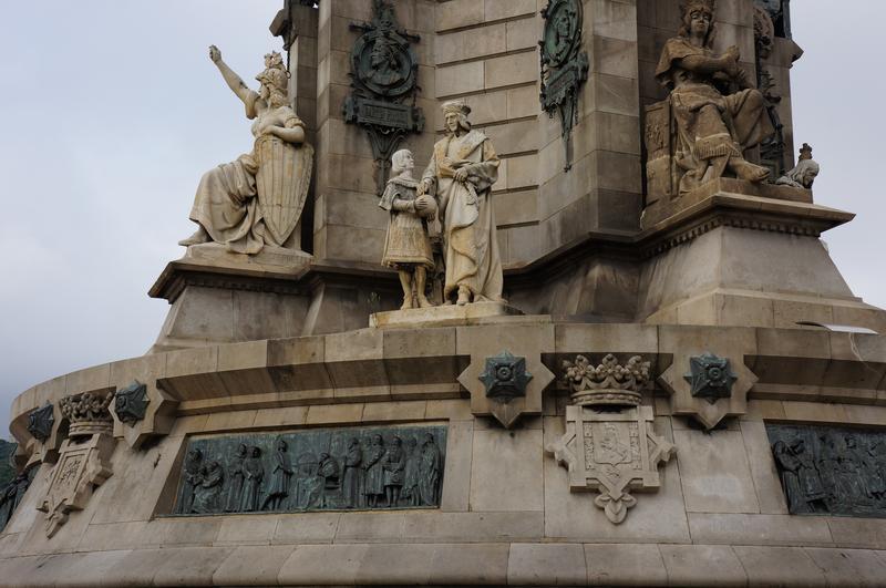 Постамент статуи Колумбу