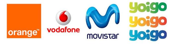 Логотипы сотовых операторов Испании