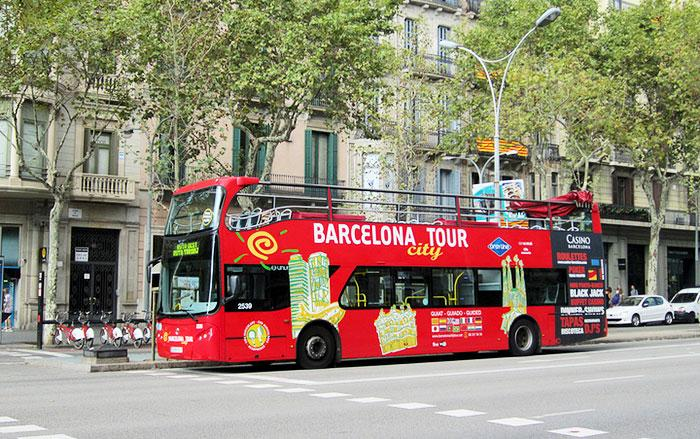 Автобус Barcelona city tour