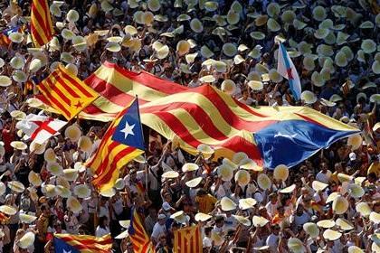 День Каталонии в Барселоне