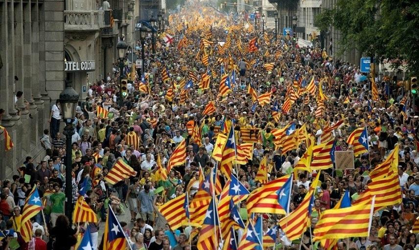 Празднования дня Каталонии