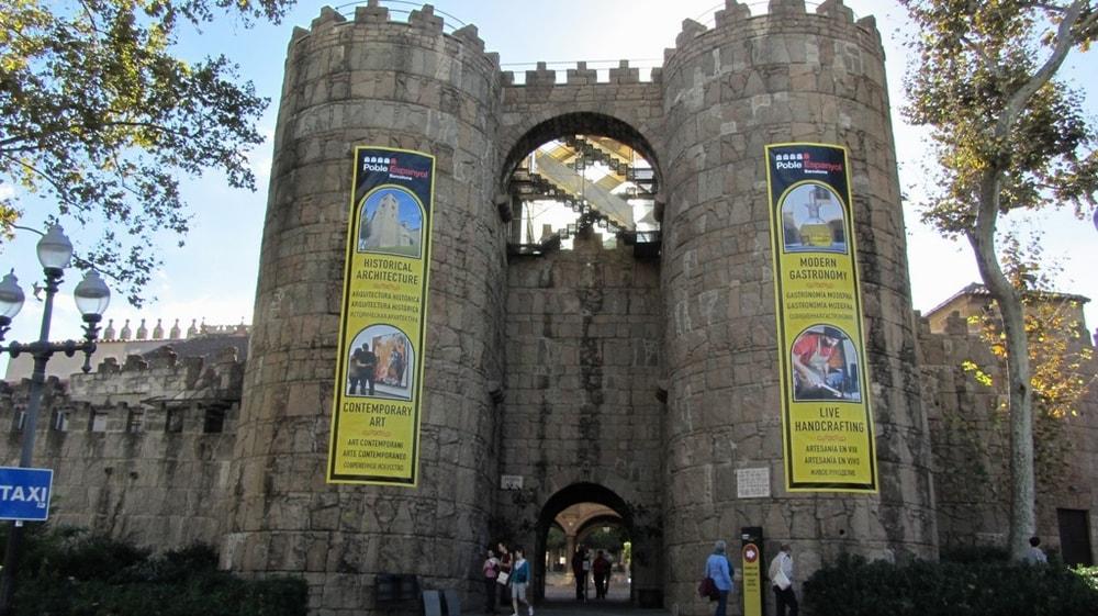 Вход в Poble Espanyol