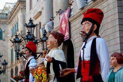 Фестиваль Ла Мерсе в Барселоне