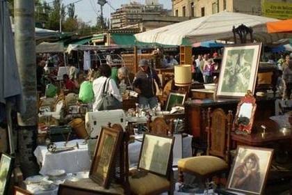 Блошиные рынки в Барселоне