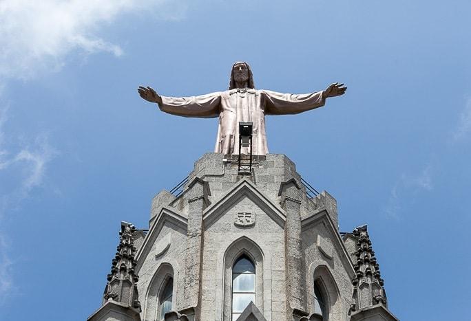 Смотровая площадка на статуе Христа