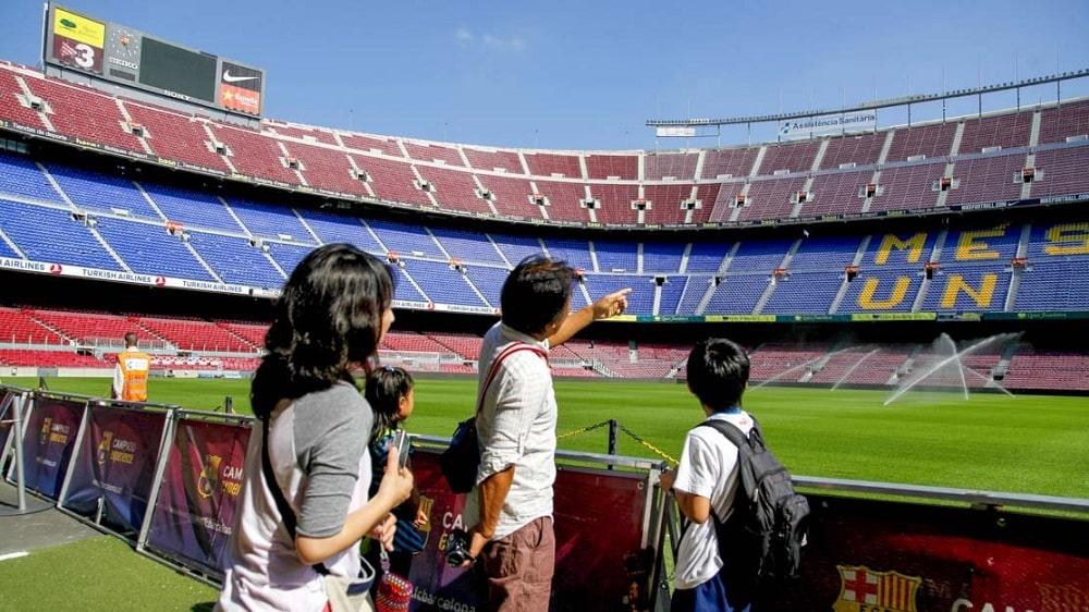 Экскурсия на стадионе