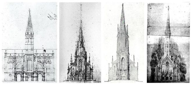 Эскизы Sagrada Familia