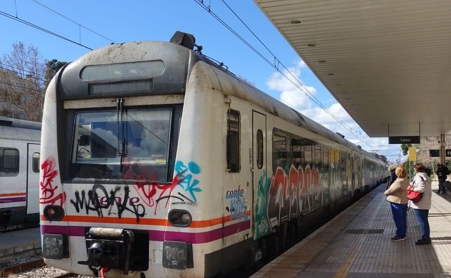 Обычный поезд до Таррагоны