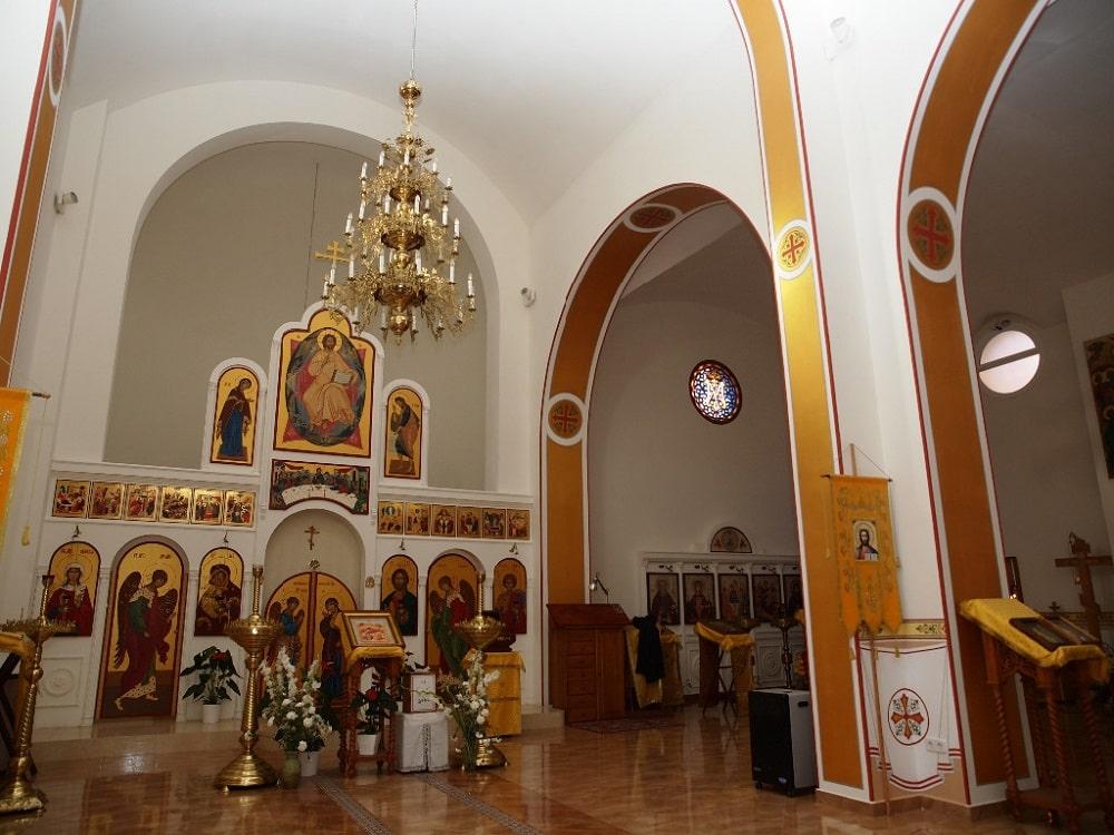 Благовещенская церковь внутри