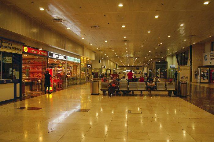 Площади вокзала