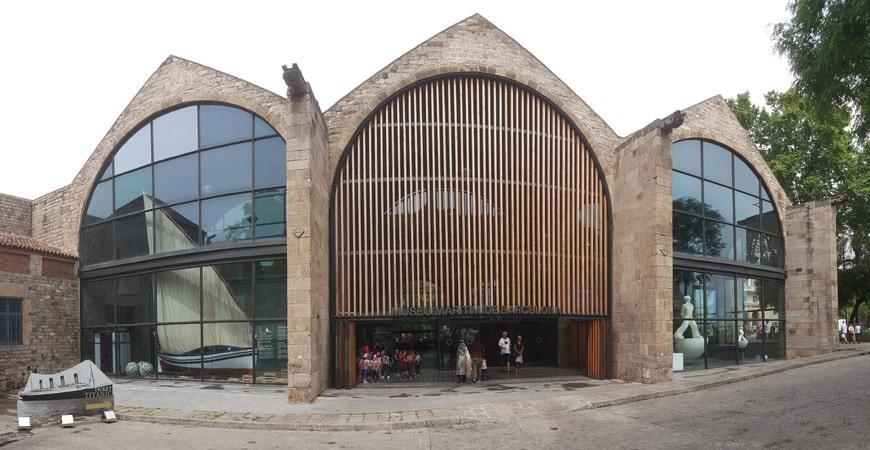 Здание морского музея