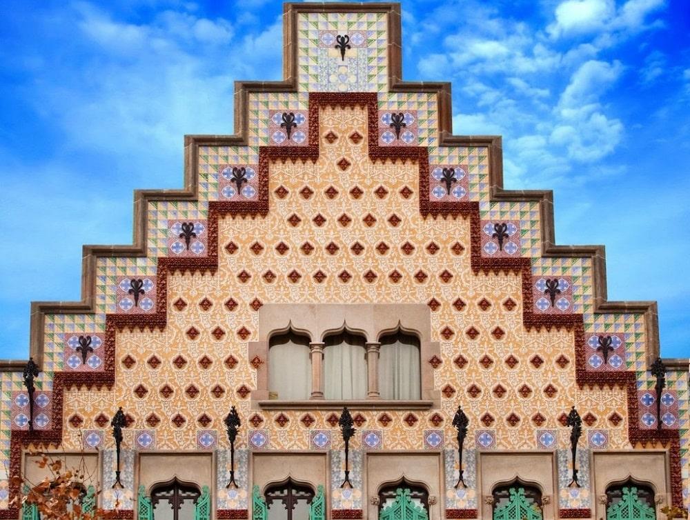 Крыша Casa Amatller