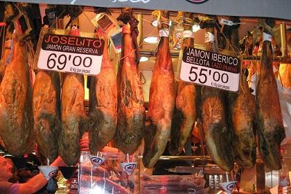 Где в Барселоне купить хамон