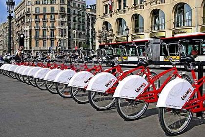 Прокат велосипедов в Барселоне