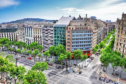 Проспект Пасео-де-Грасия в Барселоне
