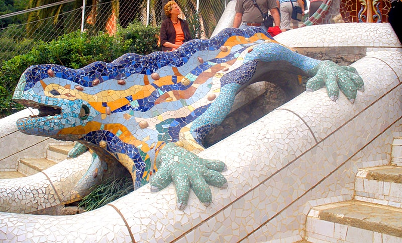 Мозаичная саламандра