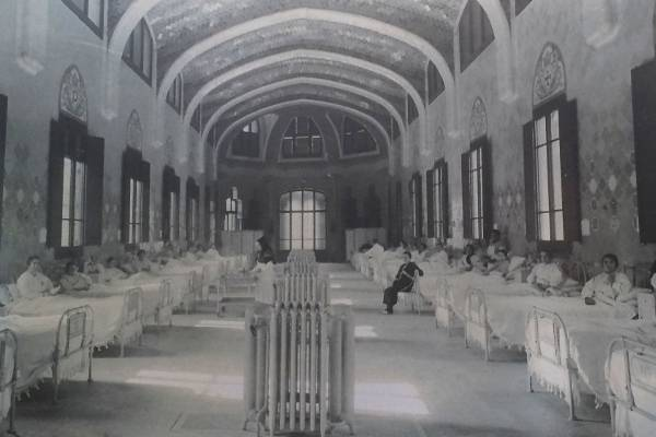 Старое фото госпиталя