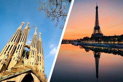 Как добраться из Барселоны в Париж