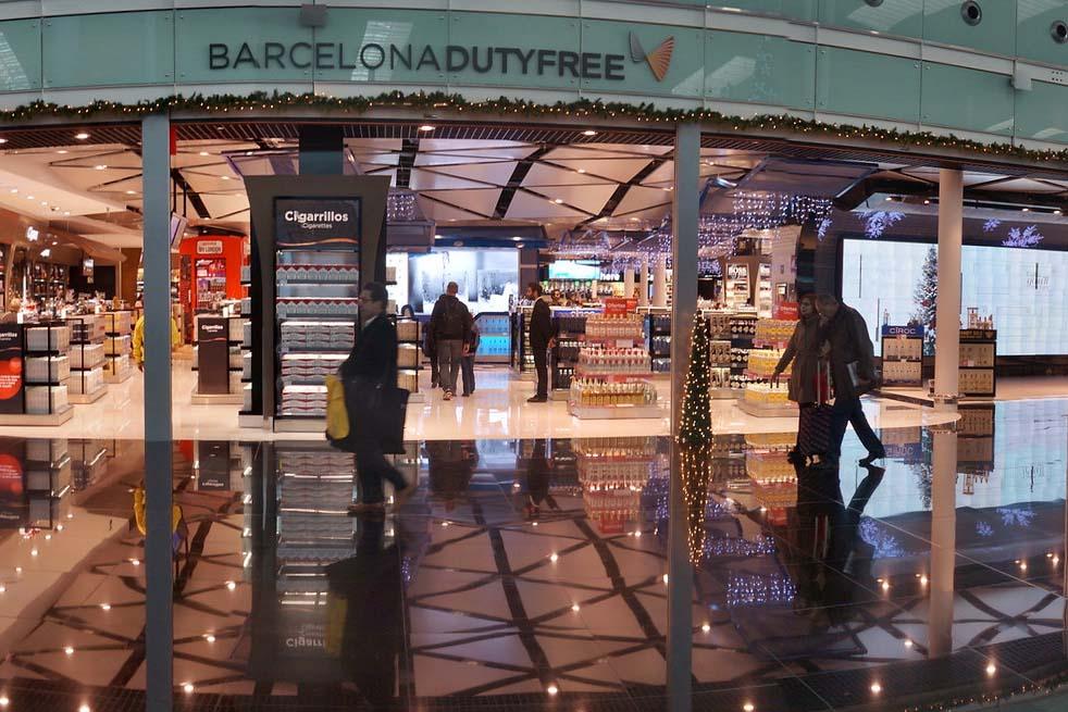 Duty Free в Барселоне