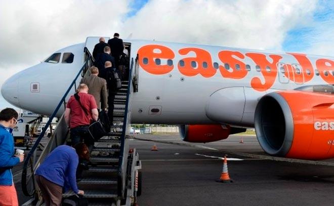 Самолет компании Easyjet