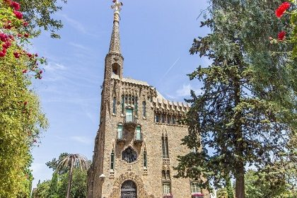 Башня Бельесгуард в Барселоне